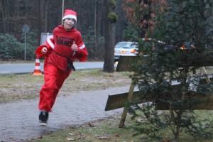Winnaar van de Santa Run 2014 !